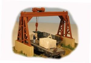 Monroe Models HO Overhead Gantry Crane Kit #2301