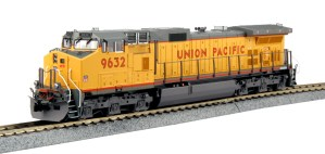 Kato HO Union Pacific GE C44-9W UP #9632 DCC Equipped 37-6632DCC