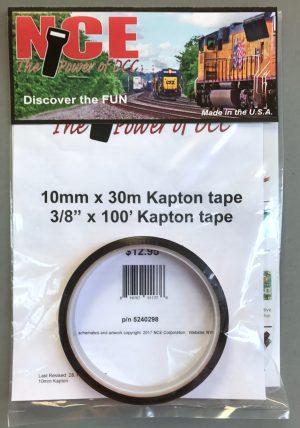 NCE KAP10 – 100ft of 10mm (.393) Kapton Tape 5240298