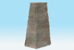 Monroe Models HO Bridge Pier Split Stone 38′ Scale Feet #735