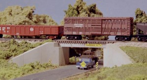 Monroe Models N Scale Concrete & Girder Bridge Kit #9005