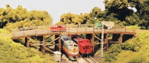 Monroe Models N Scale Country Road Bridge Laser Kit #9007
