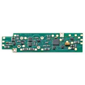 Digitrax DN166I2B 1.5 Amp Decoder fits Intermountain N Scale FP7A with wired motors produced after Jan 2014