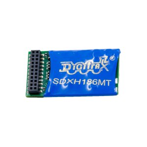 Digitrax SDXH186MT 21 Pin DCC Mobile Sound Decoder Premium 16-Bit SoundFX