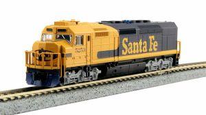 Kato N Scale Santa Fe SDP40F IVa ATSF #5253 76-9212