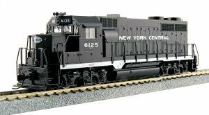 Kato HO New York Central GP35 Phase 1a NYC #6125 37-3023