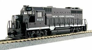 Kato HO New York Central GP35 Phase 1a NYC #6125 37-3023