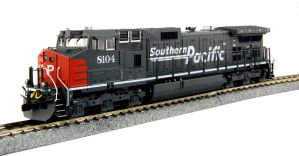 Kato HO Southern Pacific GE C44-9W SP #8104 DCC Equipped 37-6630DCC