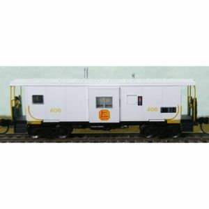 Bluford Shops N Scale KCS Kansas City Southern #400 Bay Caboose 44080