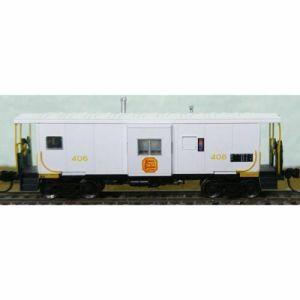 Bluford Shops N Scale KCS Kansas City Southern #400 Bay Caboose 44080