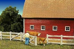 Monroe Models N Barn Yard Fence Laser Kit #9310