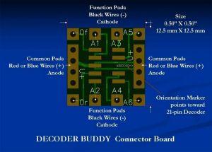 NixTrainz Decoder Buddy V5 NTZ5 For 21 Pin Decoders