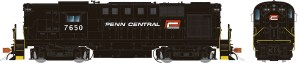 Rapido HO ALCO RS-11 Penn Central PC Ex-PRR #7650 ~ ESU DCC LokSound 31533