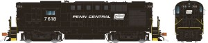 Rapido HO ALCO RS-11 Penn Central PC Ex-PRR #7618 ~ ESU DCC LokSound 31531