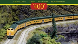 Kato N Scale Chicago & North Western 400 Series E8A 6 Unit Set W/ ESU LokSound & Interior Car Lights 106-104-LS1