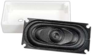 TCS WOWSpeaker UNIV-SH1-C 35mm x 16mm Speaker With Enclosure 1704