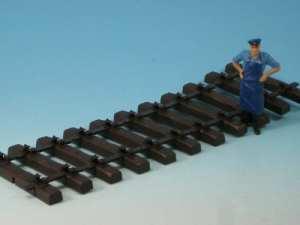 "LGB G Scale Tie Strip, 300 mm / 11-13/16"" (50 pcs) 10003"