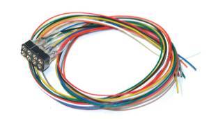 ESU 51950 Cable Harness 8-Pin Plug According To NEM 652, DCC Color, Length 300mm