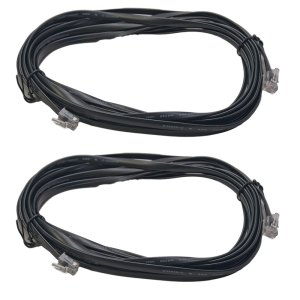 Digitrax LNC162 16 Foot LocoNet Cables With End Connectors Installed (2 pcs)