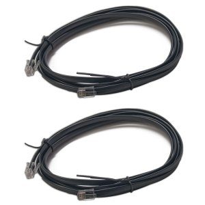Digitrax LNC82 8 Foot LocoNet Cables With End Connectors Installed (2 pcs)