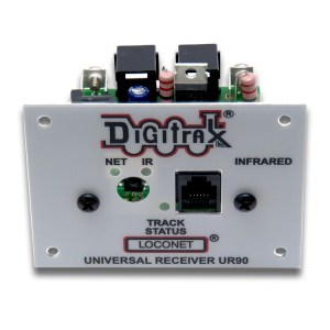 Digitrax UR90 Infrared Receiver Front Panel