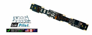 ESU 54650 LokPilot Micro Direct OEM DC DCC Motor Decoder 6 Functions