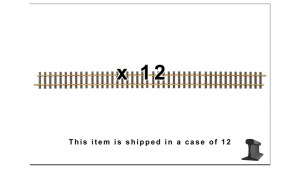 PIKO G Scale 35209 ~ G1200 1200MM Straight Track 48″ With Joiners ~ 6 Pieces