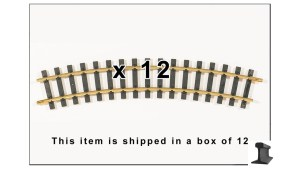 PIKO G Scale 35213 ~ R3 R920mm 32.6″R ~ Curve Track ~ With Joiners ~ 12 Pieces