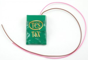 TCS T6XA ~ 6 Function BEMF DCC Decoder 9 Pin JST 1382