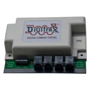 Digitrax UP6Z LocoNet Universal Panel and 3 Amp Z Scale Voltage Reducer