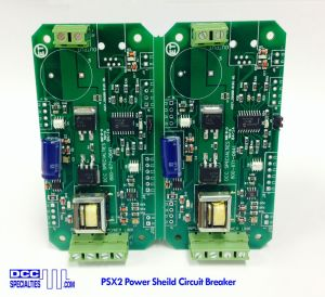 DCC Specialties PSX2 PowerShield PSX-2 Circuit Breakers With Feedback