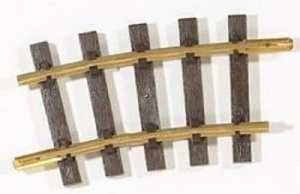 PIKO G Scale 35216 ~ R5 7.5° 1240mm 48.8″R Curve Track With Joiners ~ 1 Piece