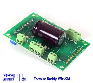 DCC Specialties Tortoise Buddy Wiz-Kid ~ DCC Compatible ~ 12 Terminals