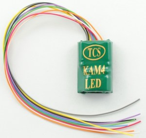 TCS KAM4-LED M4 DCC Decoder LED Resistors With Keep Alive 1479