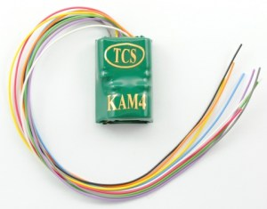 TCS KAM4 DCC Decoder With Keep Alive 1485