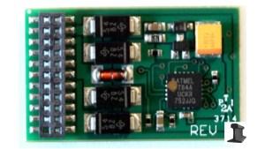 Soundtraxx 21 Pin DCC Motor Decoder ~ 4 Functions MC1H104P21 882005