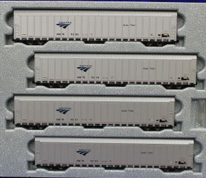 Kato N Scale Amtrak Autorack Auto Train ~ 4 Car Set #3 ~ 1065505