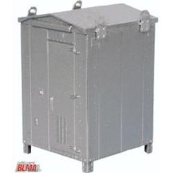 Atlas BLMA N Scale Modern Signal Electronics Boxes – Medium (2 pcs) Assembled – AF215B 606