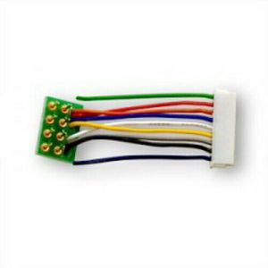 Digitrax DHWHPS ~ 9 Pin To 8 Pin Wire Short Harness (1 pc)
