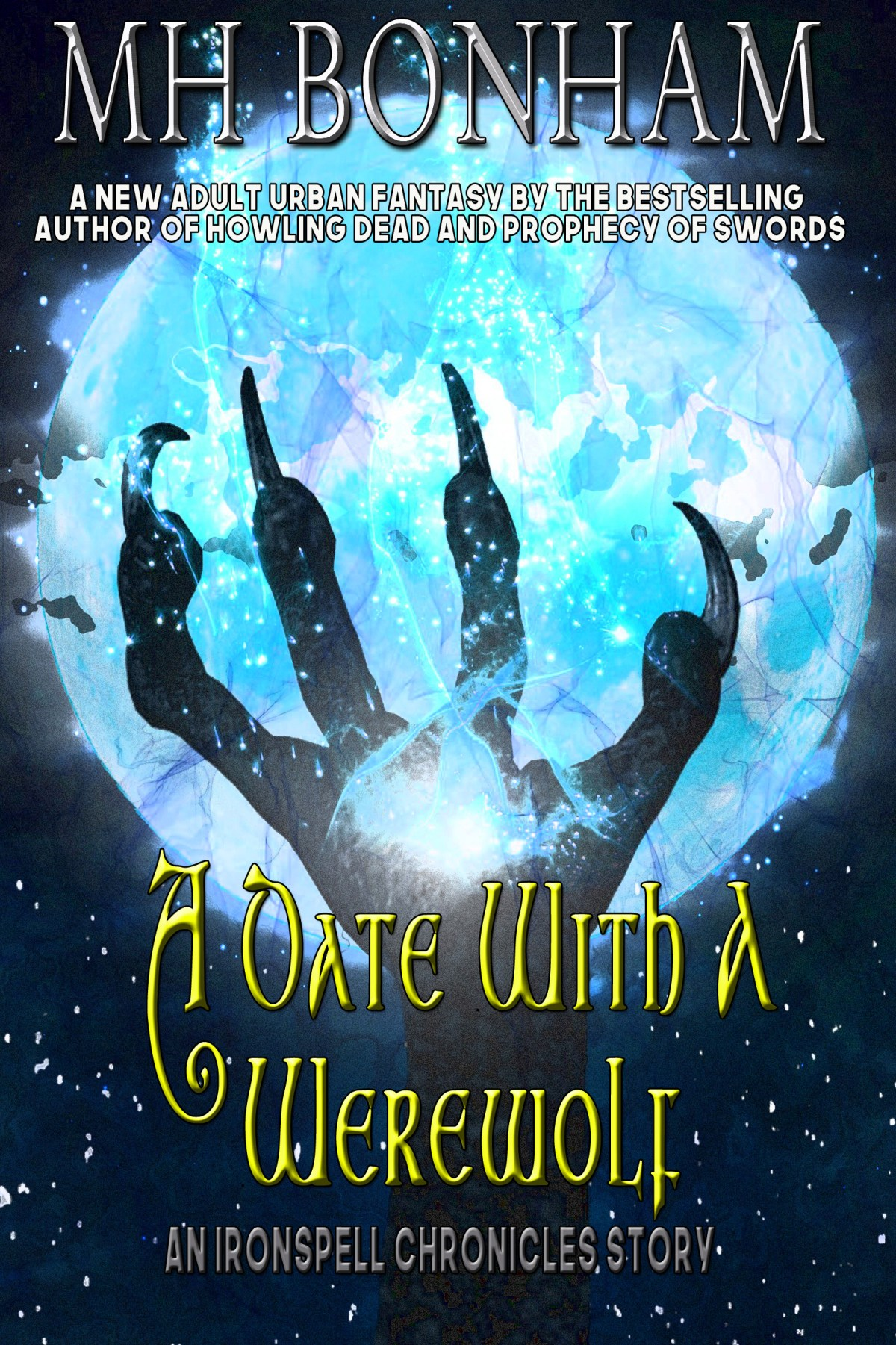 A Date with a Werewolf is Now Available on Amazon!
