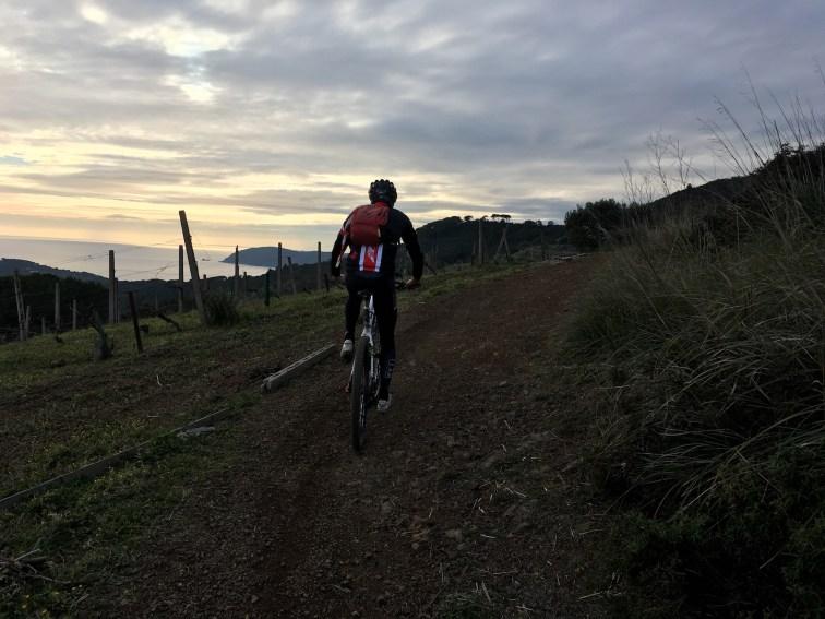 Sprint Lido di Capoliveri - salita in direzione Monte Orello