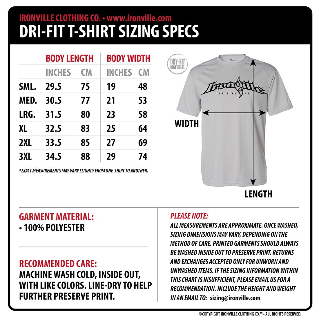 Mens Dress Shirt Sizing Chart - DREAMWORKS