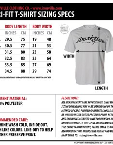 Basic sizing information also ironville size charts gym apparel measurments clothing rh