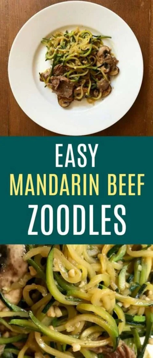 Easy keto zoodle recipe - this is a great zoodle recipe to try any night of the week. Seriously so easy - a one pan zucchini noodle recipe that everyone will love.