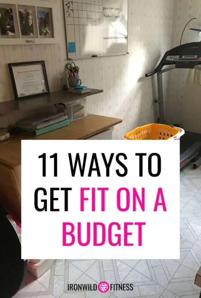 simple ways to get fit on a budget