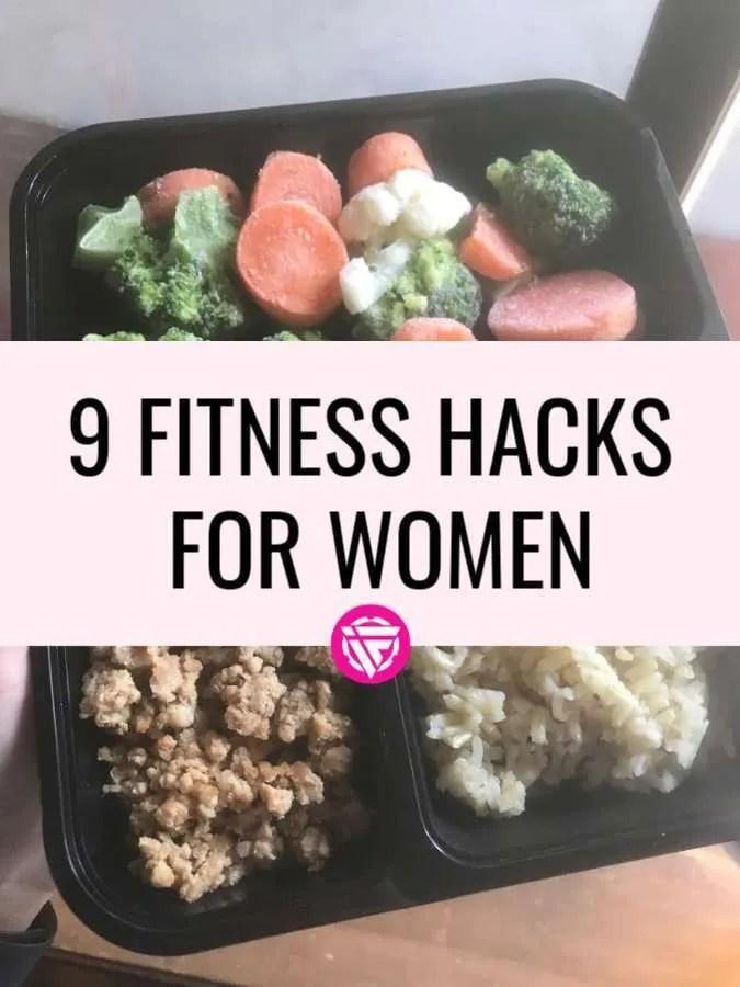 Fitness hacks for women