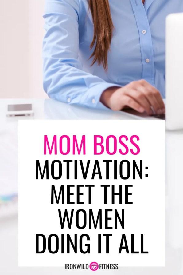 meet mom boss leah