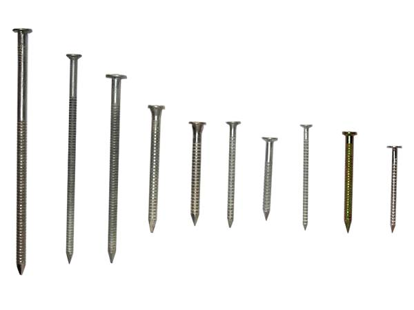 Ring Shank Nails for Permanent Construction Fastening
