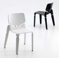modern black and white chair designs - Iroonie.com