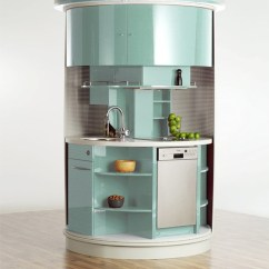 Space Saver Kitchen Design For Small Futuristic Plans Iroonie